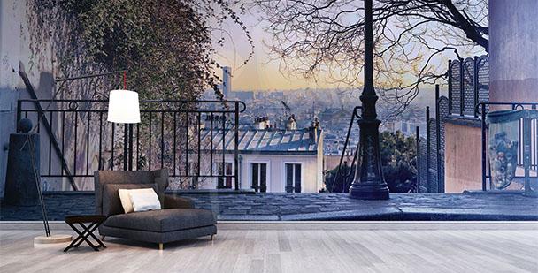 Papier peint ruelle dans Paris