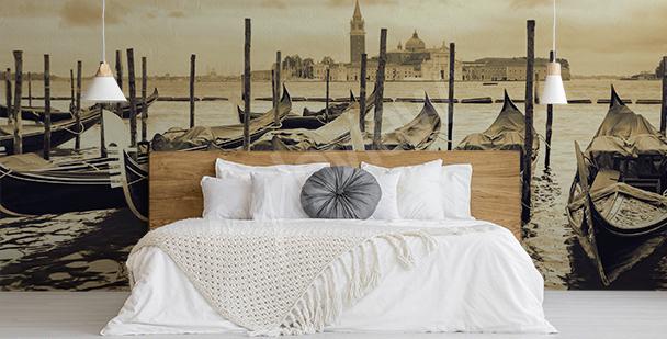 Papier peint canaux de Venise