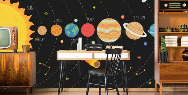 Papier peint la Terre