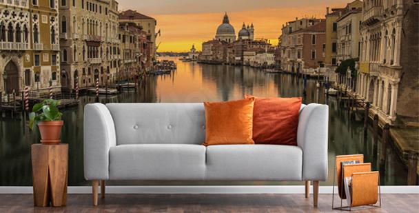 Papier peint Venise au lever du soleil