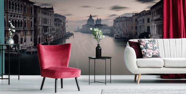 Papier peint Venise dans le brouillard