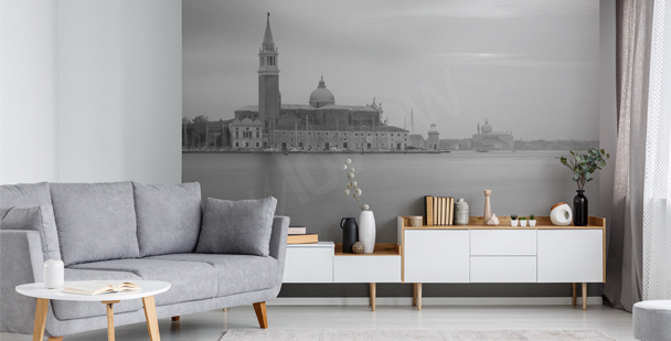 Papier peint Venise monochrome