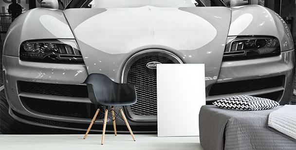 Papier peint voiture Bugatti