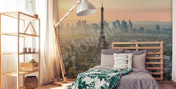 Papier peint vue sur la Tour Eiffel