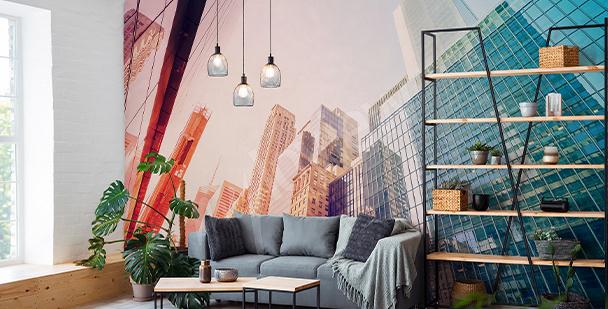 Papier peint vue sur Manhattan