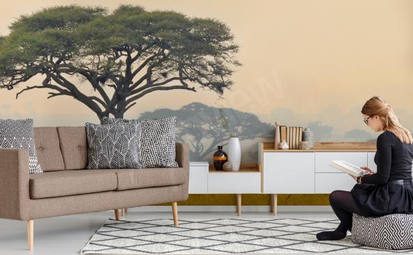 Papiers peints panorama de l'Afrique