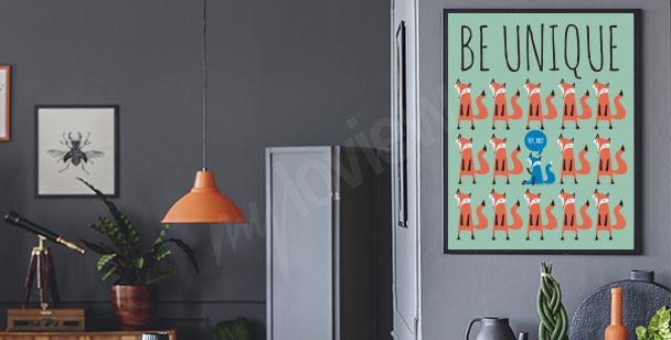 Poster «Soyez original»