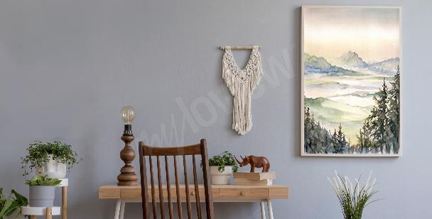 Poster aquarelle