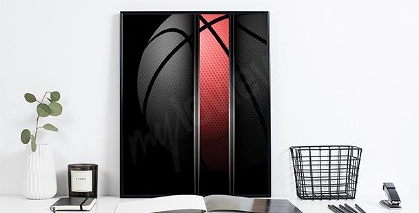 Poster basket-ball pour les sportifs