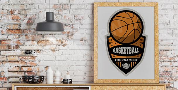 Poster champions de basket-ball