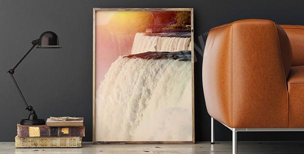 Poster chutes du Niagara