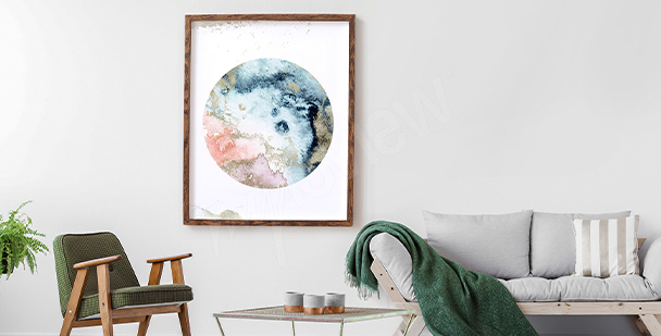 Poster cosmos minimaliste