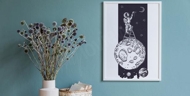 Poster cosmos vintage