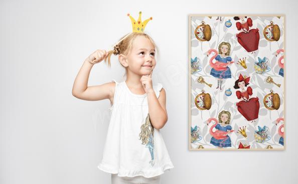 Poster dessin animés pour fille