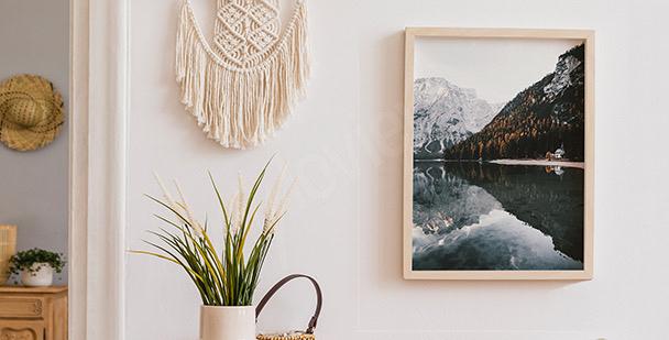 Poster du lac de Braies