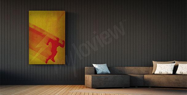 Poster du super-héros Flash