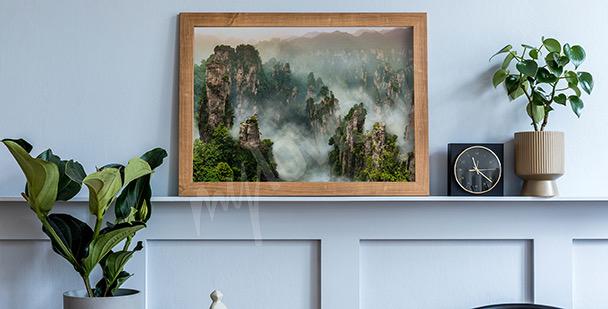 Poster forêt de Wulingyuan