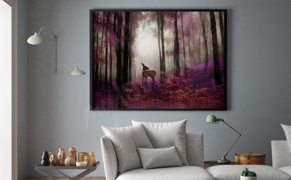 Poster forêt fantastique