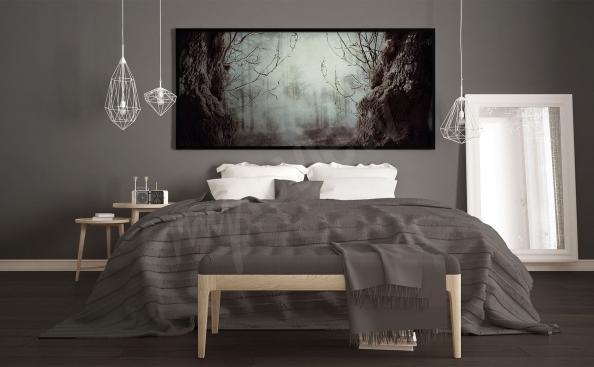 Poster forêt mystérieuse