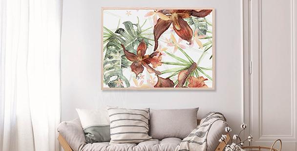 Poster illustration botanique