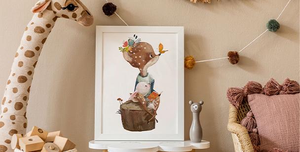 Poster image d'enfant