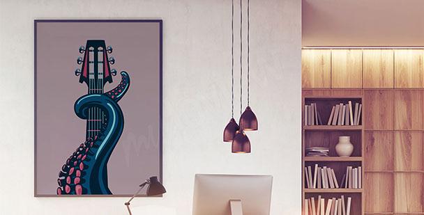 Poster inspiré de la musique