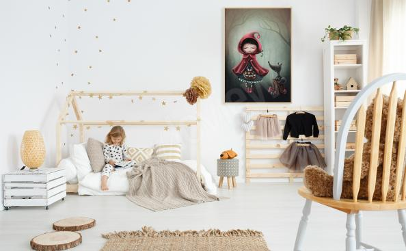 Poster Le petit Chaperon Rouge