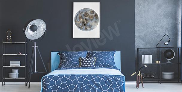 Poster Lune pour chambre à coucher