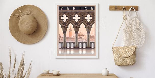 Poster matinée à Venise
