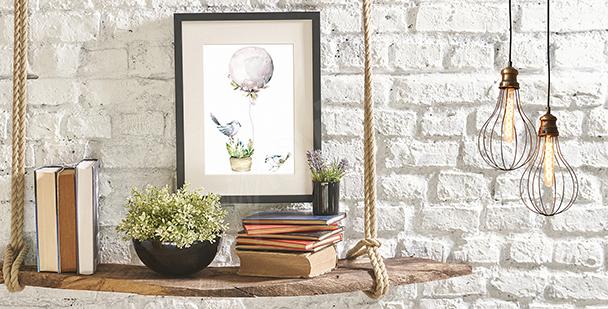 Poster minimaliste aquarelle