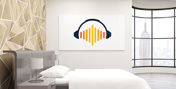 Poster minimaliste musique