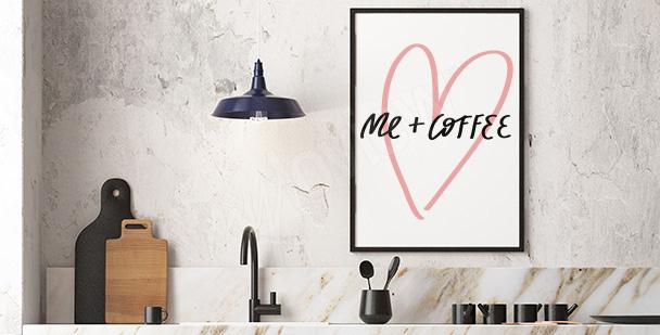 Poster minimaliste typographique