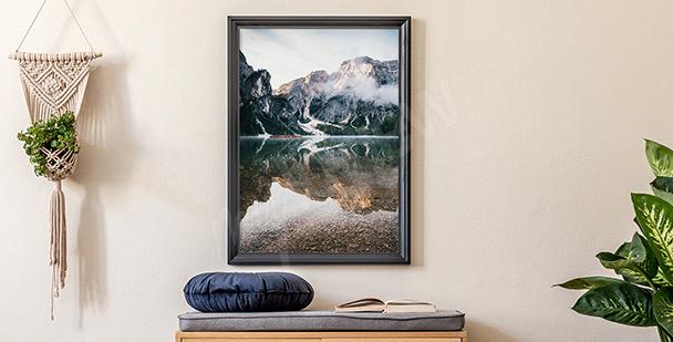 Poster paysage en couleurs