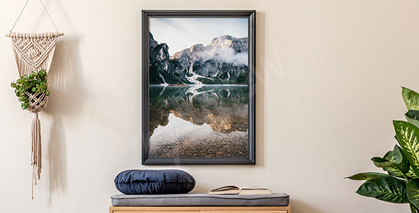 Poster montagne en Italie
