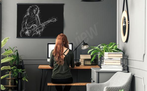 Poster musicien Brian May