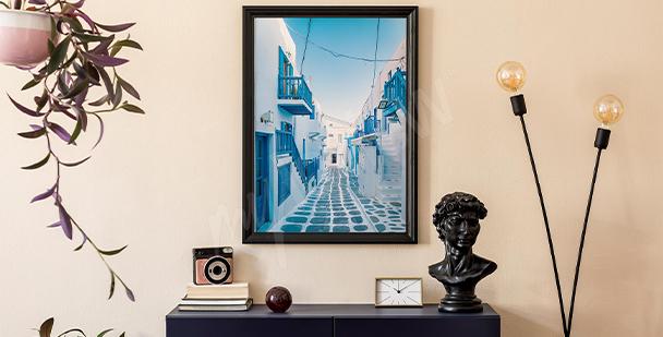 Poster Mykonos Architecture