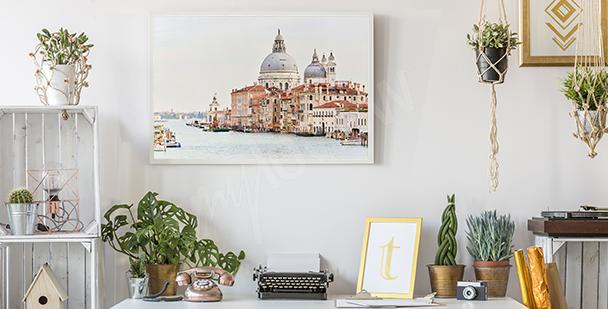 Poster paysage urbain