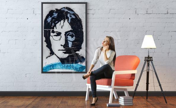 Poster portrait de John Lennon