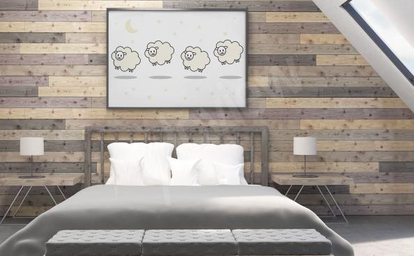 Poster pour chambre à coucher béliers