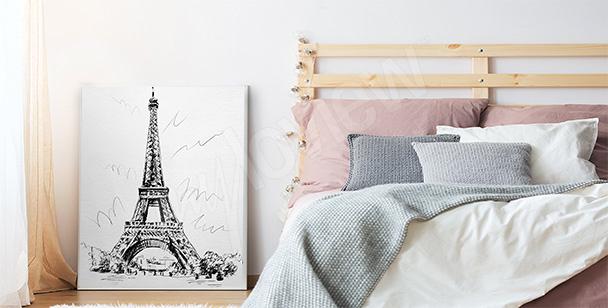 Poster pour chambre à coucher: tour