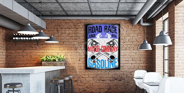 Poster pour les fans de motorisation