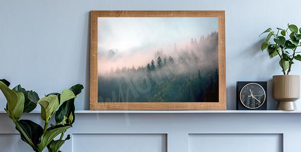 Poster scandinave brume