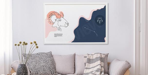 Poster vaisseau cosmique