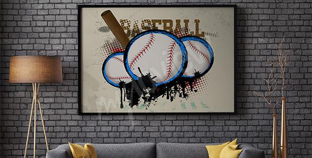 Poster sport baseball