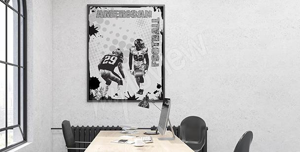 Poster sport pour adolescent