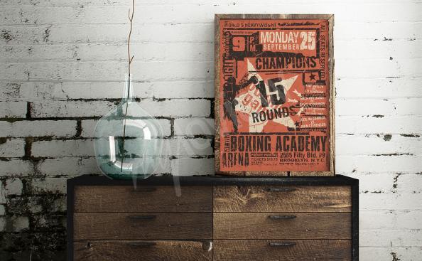 Poster sportboxe