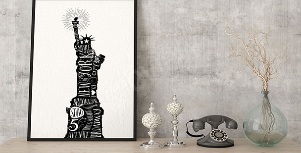 Poster Statue de la Liberté