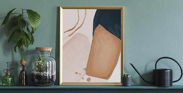 Poster style minimaliste