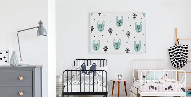 Poster style scandinave pour enfant
