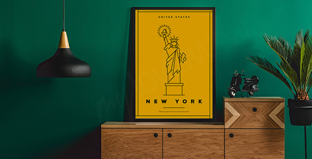 Poster symbole de New York